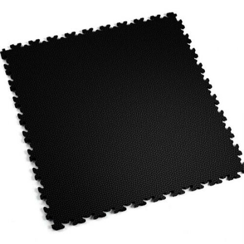 Black Snakeskin- Motolock Interlocking Floor Tile